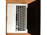 "MACBOOK PRO13 "" (RETINA) DISPLAY i5PROFESSIONAL ,SUPPER FAST EXCELLENT CONDITION APPLE"