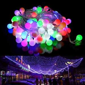 Guirlande lumineuse led int rieure ext rieure 80 led for Guirlande exterieure led