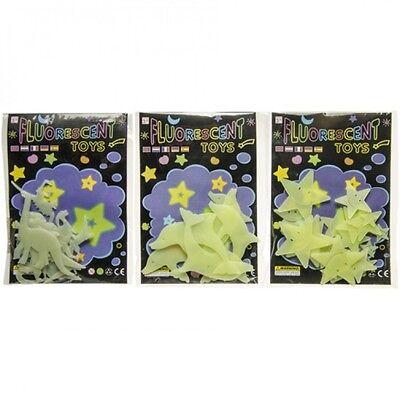 Glow in the Dark - Leuchtsterne Leuchtsticker Sternenhimmel Sterne Wandtattoo ()
