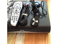 Mint Sky plus hd box with remote accessories