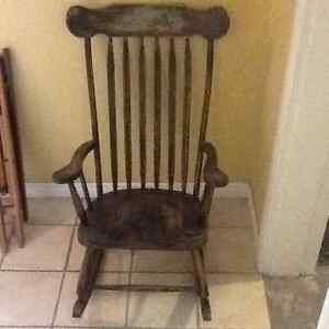 Solid Wood Rocking Chair for sale Kitchener / Waterloo Kitchener Area image 1