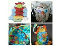 Baby Einstein, Chad Valley, Blossom Farm ELC, Teddy floor activity all FOR SALE £70 ovno