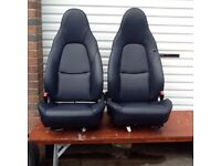 MX5 Black leather heated seats