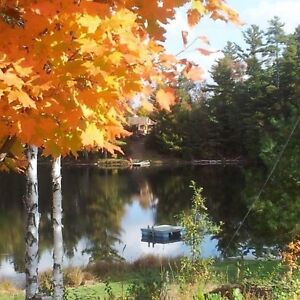 Waterfront home, with adjacent severed lot, close to Bon Echo