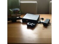 Xbox 360 and Kinect, controller, leads and games