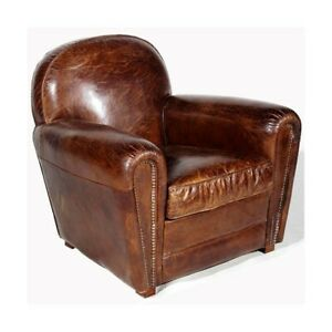 UpCountry Leather Chair – Vintage Cigar