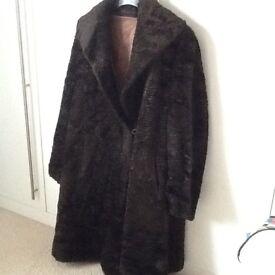 Vintage (fur?) coat