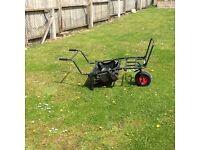 Fishing wheelbarrow