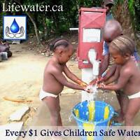 Volunteers for Lifewater Fundraisers