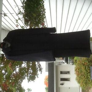 Manteau pour homme 100% laine, réversible 44L