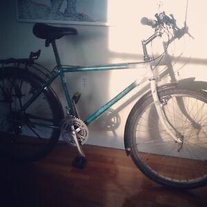 Vintage Bianchi commuter bike
