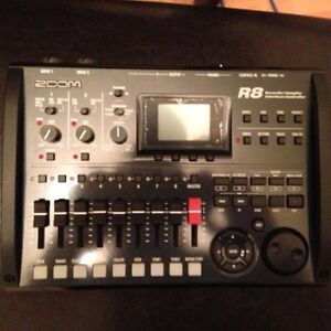 Zoom R8 recorder, interface, control surface