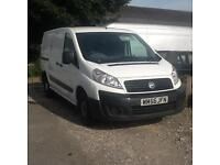 Fiat Scudo LWB 2007 , 2.0 HDI , THREE SEATS IN FRONT , TWIN SIDE LOADING DOORS