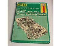 BOOK FORD CAPRI 1969 To 1974 MK1 MODELS