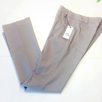 Pantalone donna taglia 44 - 46 elegante grigio dritti marca Ombretta Italia