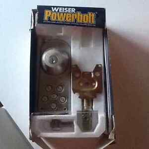 New Electronic deadbolt with touchpad