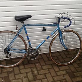 BSA Cycle, Classic Tour de France Road bike. 25 inch Frame