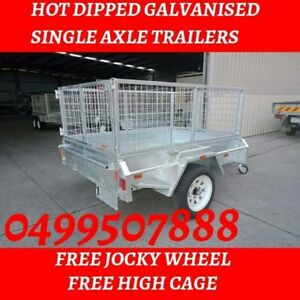 7x5 Single axle Trailers with top Quality And Best Price