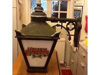 Antique Public house lamp