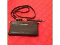 Leather shoulder / clutch bag unwanted gift