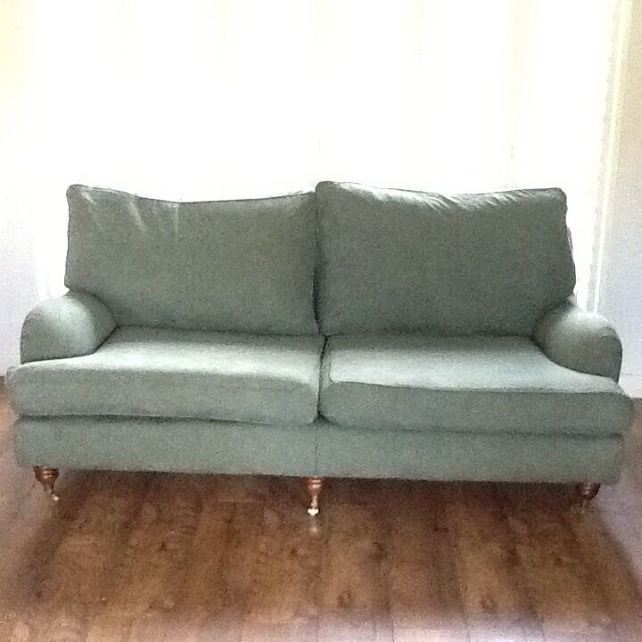 Beautiful Multi York Large Verona Sofa Armchair And Footstool In Dark Green
