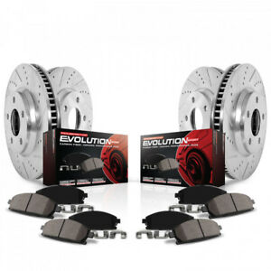 12-17 Accent Rio POWER STOP Z23 Evolution Pads & Rotors F/R