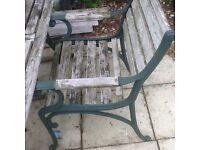 Free garden furniture.