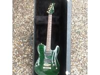 Shine arch top Telecaster with hardcase