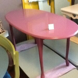 Purple violet coffee table