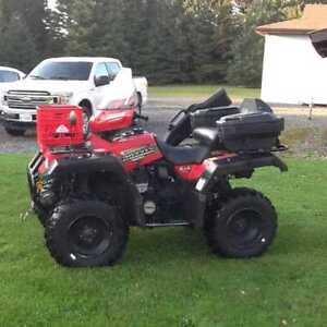 2000 Yamaha Grizzly 600 with Snow Plow