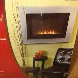 In-Wall install fireplace