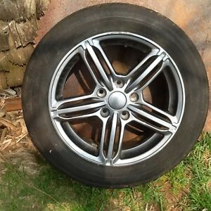 New tires and rims off Audi A4 205-55-16 all season