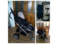 Mamas and papas Ziko Herbie travel system with extras