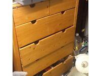 Pine drawers IKEA style