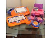 Childrens V Tech games console