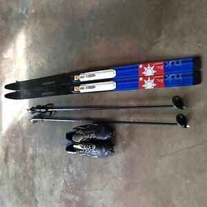 SKIS, BOOTS AND POLES (Children Size)