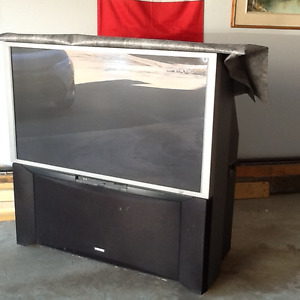 Projection Hitachi 55'' Tv