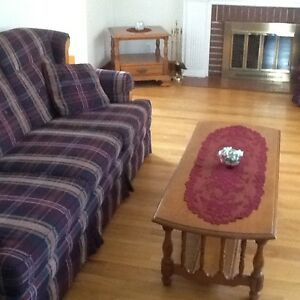 Roxton coffee and 2 end tables
