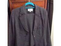 Ladies grey suit
