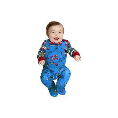 BABY Licensed CHUCKY Childs Play 2 Good Guys Boys Girls Halloween Fancy Dress