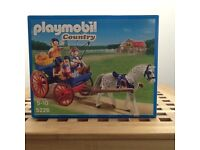 Playmobil Country horse and cart toy. Brand new.