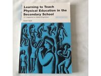 Learning to Teach Physical Aducation in the Secondary School, Susan Capel