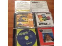 Variety of Microsoft Products on CD