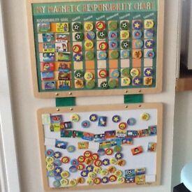 Children's reward chart