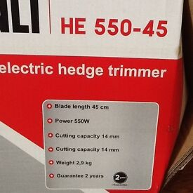 SANLI HE 550-45 ELECTRIC HEDGE TRIMMER BRAND NEW