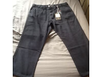 Two Pair of Brand New Mens Canvas Trousers.