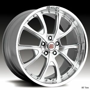 20X9-20X10-SILVER-CARROLL-SHELBY-CS40-WHEELS-RIMS-GT500