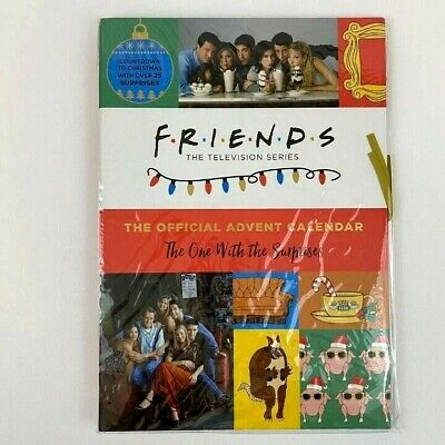 Friends TV Show Official Advent Calendar The One with the Surprises NEW
