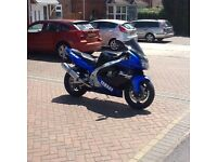 Yamaha thunder race Yzf 1000r 150 bhp 170mph top end yours for £1250