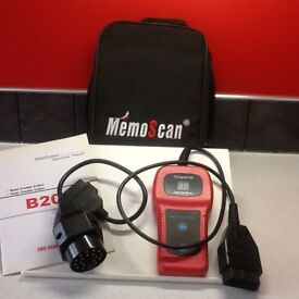 Code & Reset scanner for BMW/Mini cars